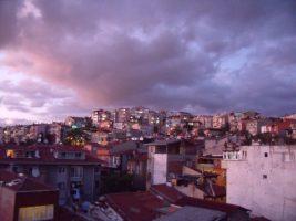 Der Himmel über Istanbul